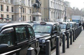Example of our classic black cabs