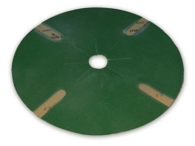 fine-grained sandpaper disc