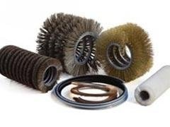 spiral strip brushes