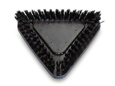 triangular brushes
