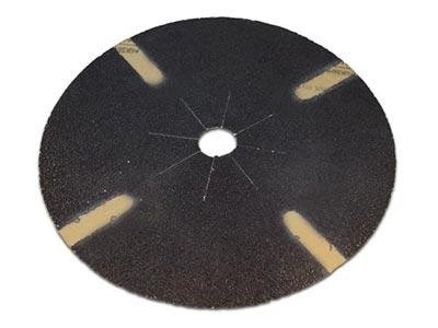 coarse sandpaper disc