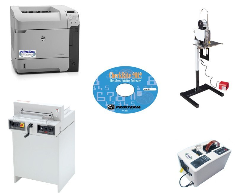 Checkbook 200 - Checkbook Printing, Cutting, Binding and Taping
