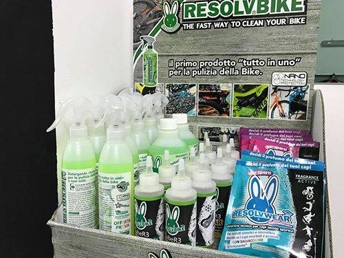 prodotti per la pulizia della bicicletta