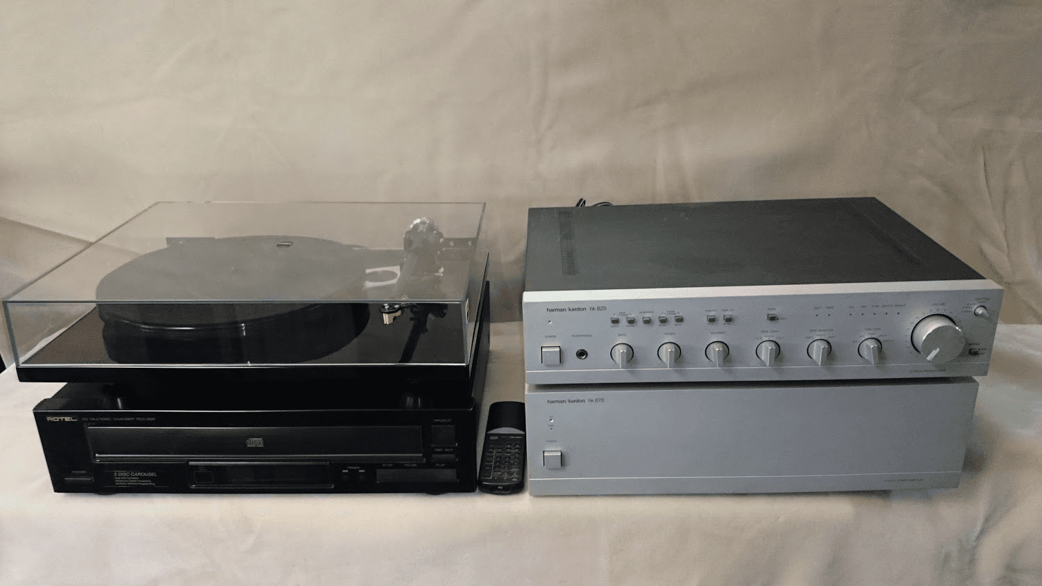 Hi-fi music system