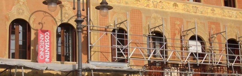 restauro palazzo amistani guarda