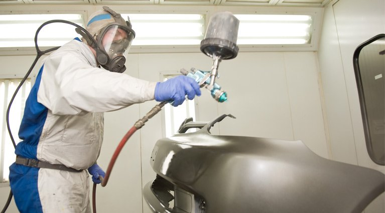 automotive spray painting supplies