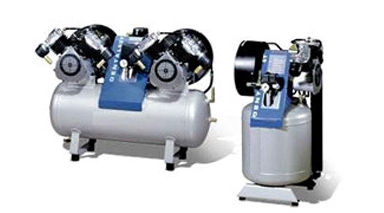 oilless dental compressors