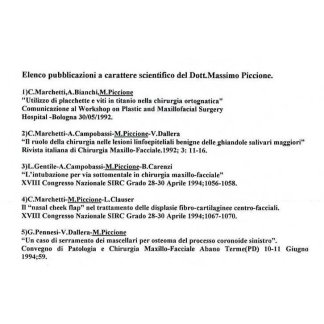 Pubblicazioni dott Piccione