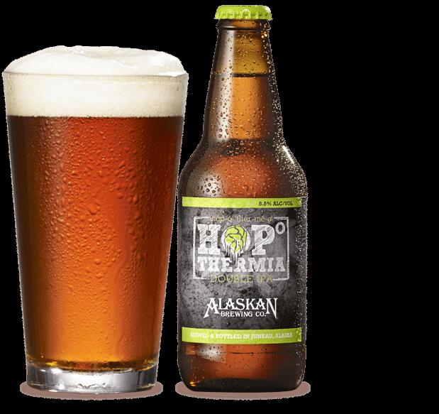 Alaskan Hopothermia Double IPA Craft Beer