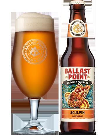 Ballast Point Sculpin IPA Craft Beer San Antonio, TX