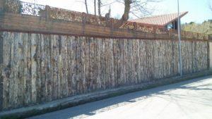 recinzione esterna