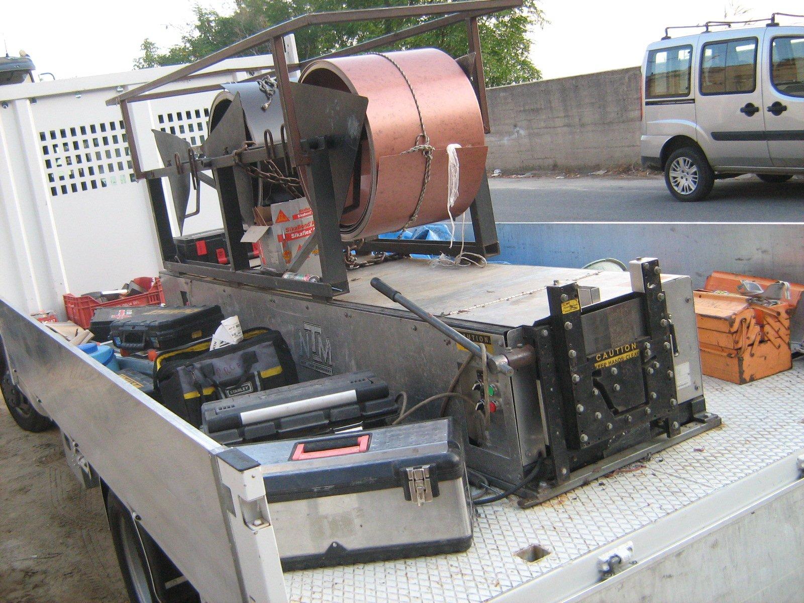 macchinario per lavori edili