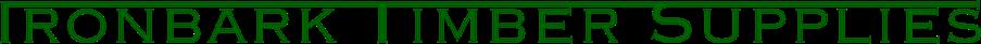 ironbark timber supplies logo