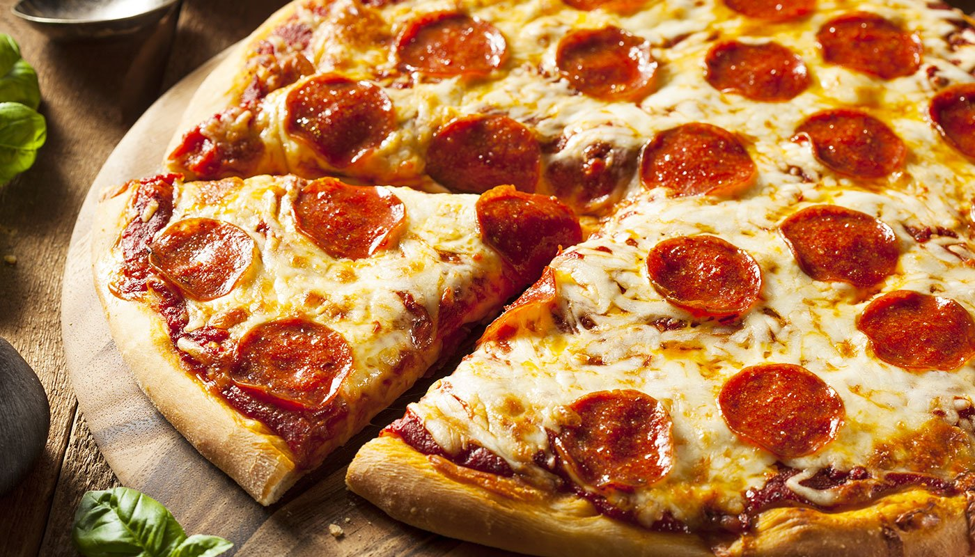 Hot Pepperoni Pizza pronto
