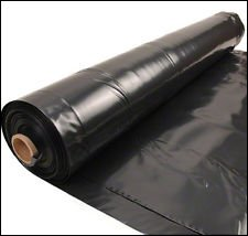 the tubeworks roll of black builders filim
