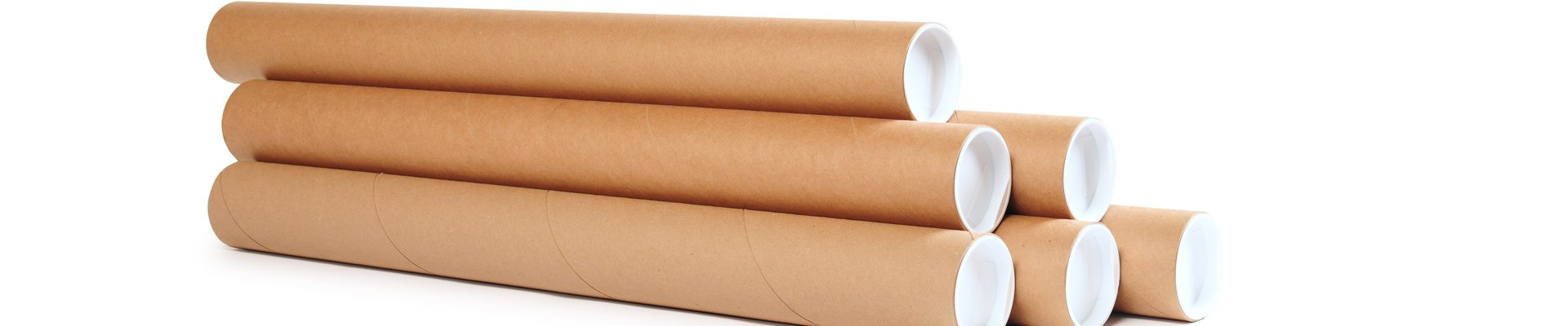 the tubeworks cardboard tubes with white lids