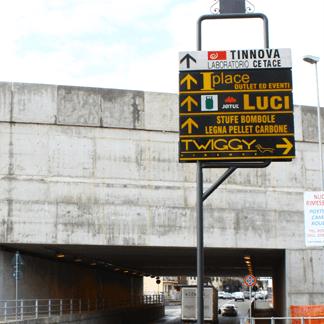 cartelli direzionali