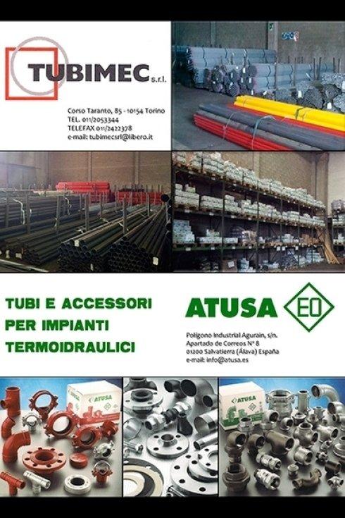tubi ed accessori per impianti idraulici