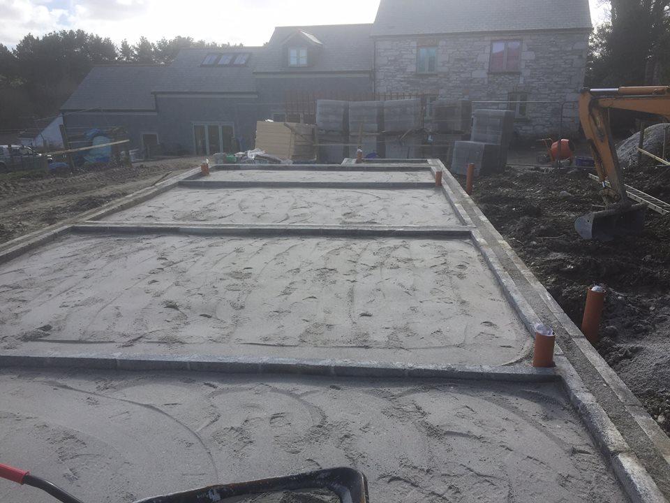 flooring under construction
