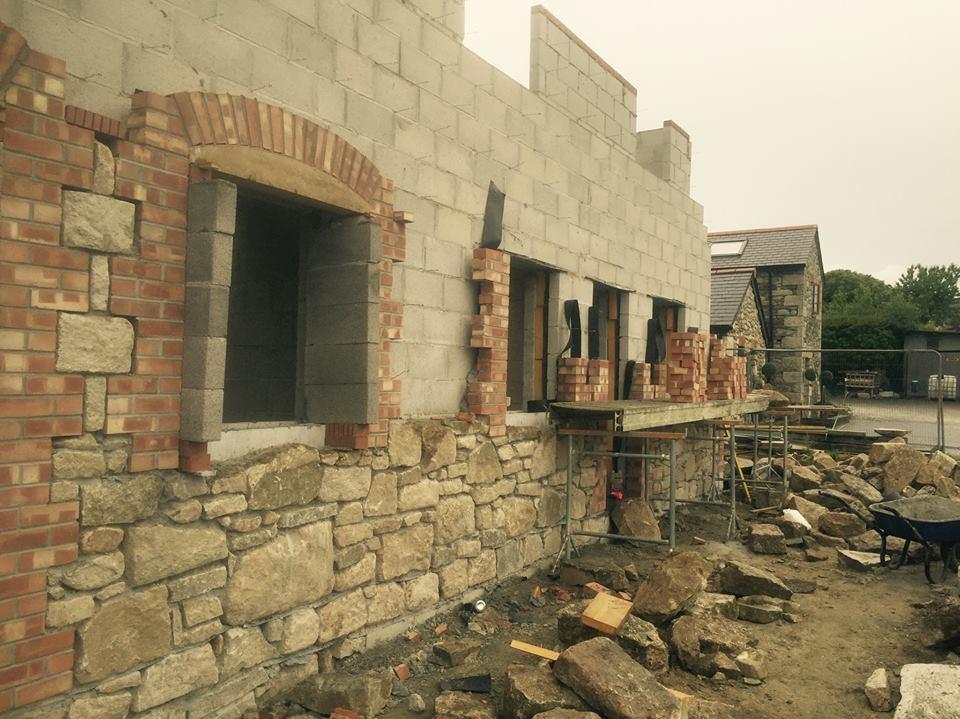damaged walling