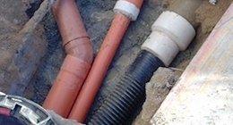 scavi per condotte idriche