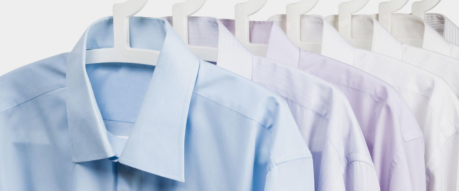 ironed shirts
