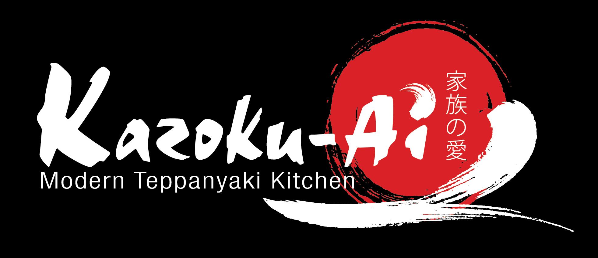 The Kazoku-Ai Modern Teppanyaki Kitchen Logo