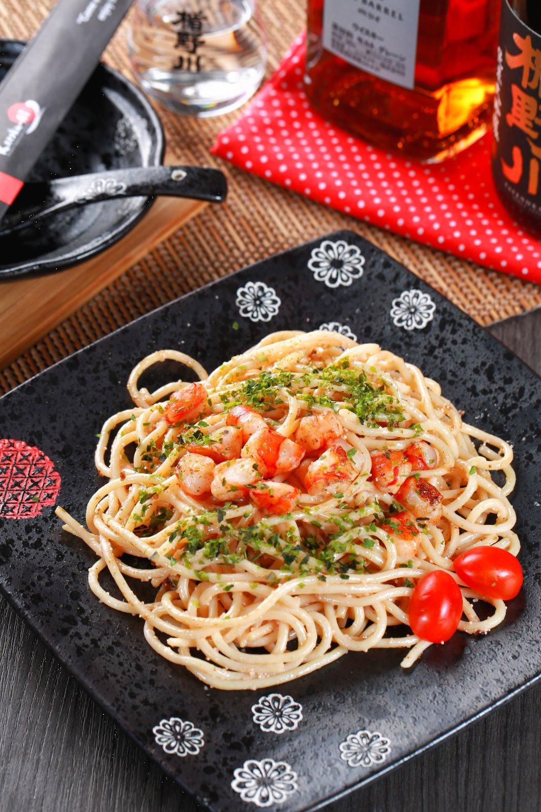 Taste Spaghetti Mentaiko best at japanese teppanyaki, malaysia