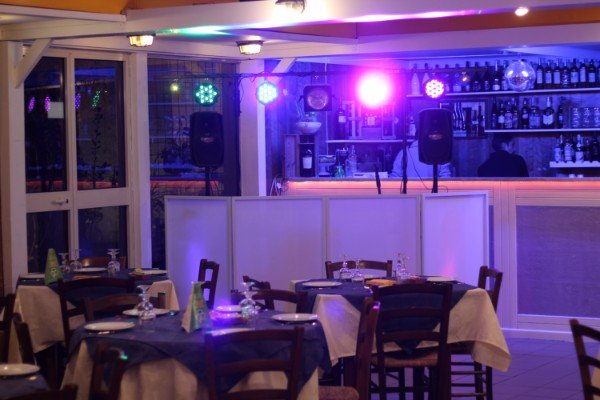 vista del bar del ristorante