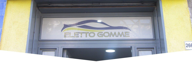 Vetrina Eletto Gomme a Napoli