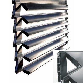 Avvolgibile in alluminio orientabile