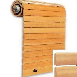 Avvolgibile in legno