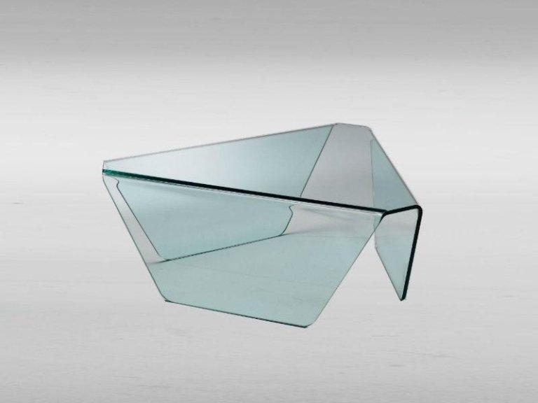 Tavolo in vetro Tris