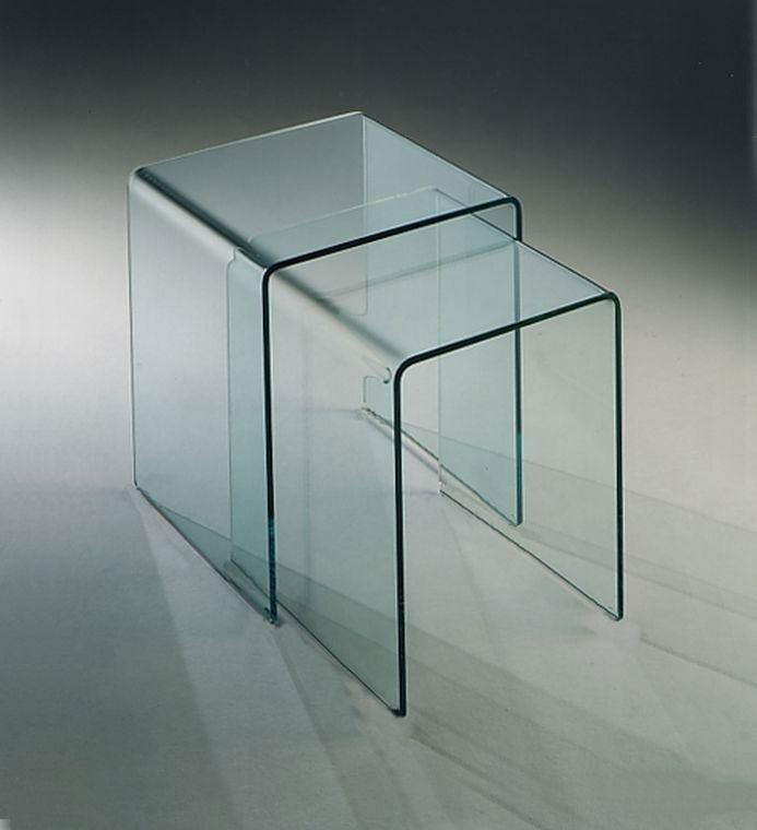 Tavolo in vetro Rialto