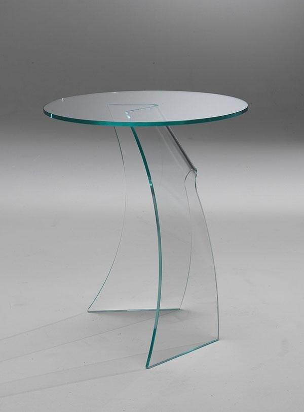 Tavolo in vetro Wind
