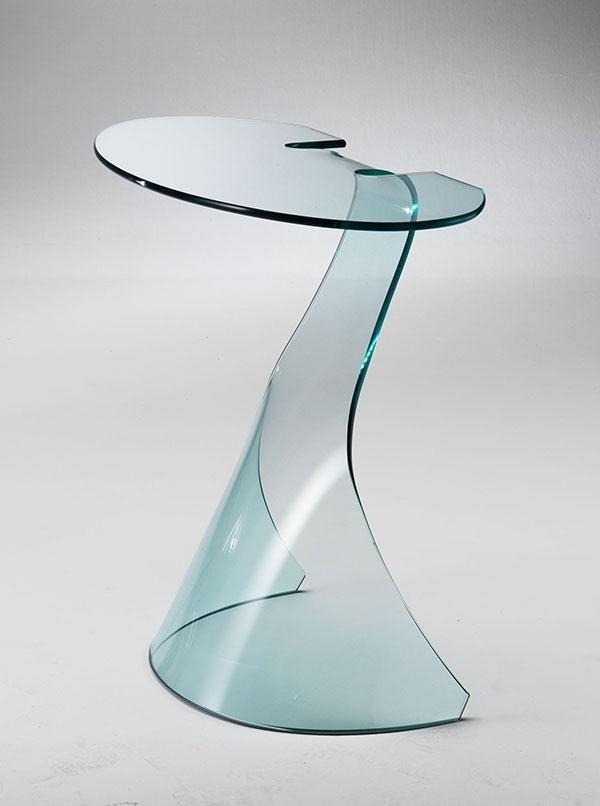 Tavolo in vetro Lyra