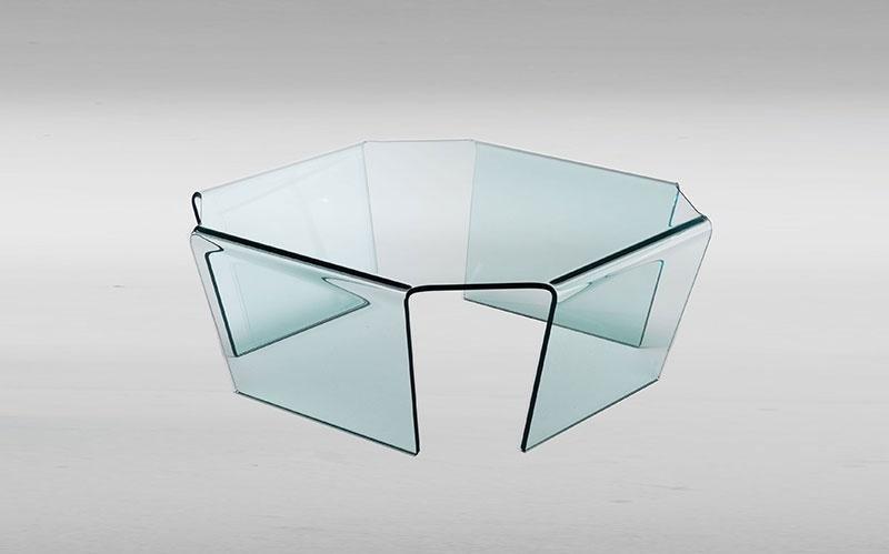 Tavolo in vetro Bridge