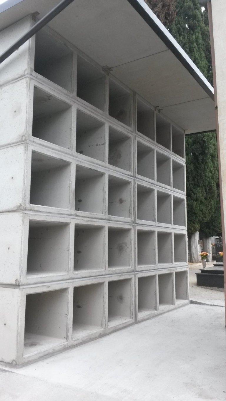loculi prefabbricati in cemento