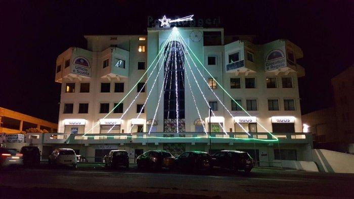 Luminarie per hotel