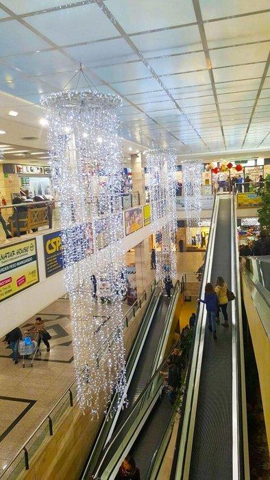 illuminazione luminarie per centri commerciali