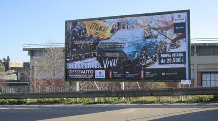 Affissione Strada 1 Paperetta Predda Niedda