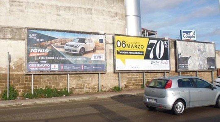 Manifesti pubblicitari Strada 16 Coapla Predda Niedda