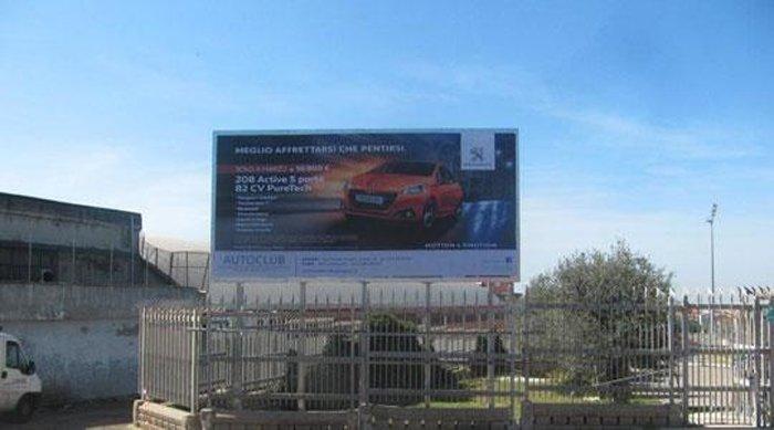 Cartellone pubblicitario Piazza Antonio Segni 1 sassari