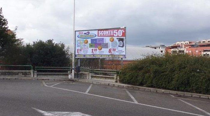 Affissione pubblicitaria Piazza Antonio Segni 2 Sassari