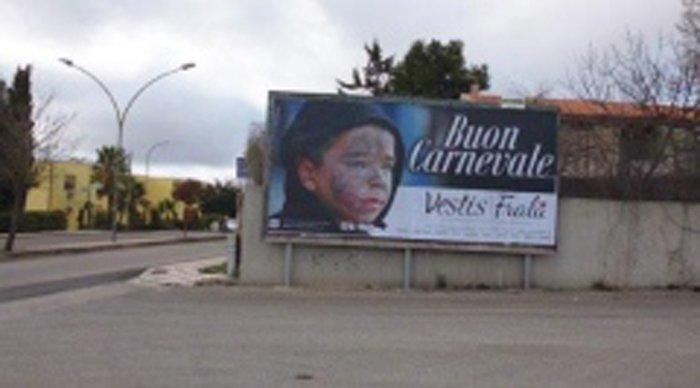 Affissione Via Boccaccio a Ittiri