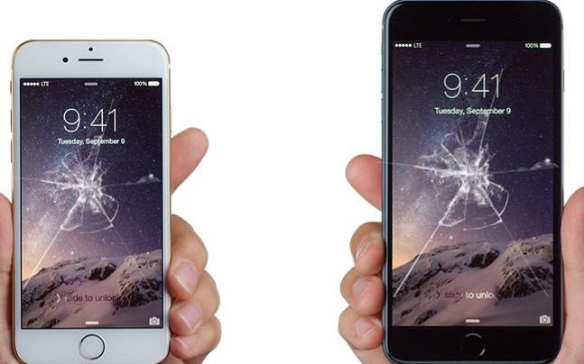 due cellulari rotti