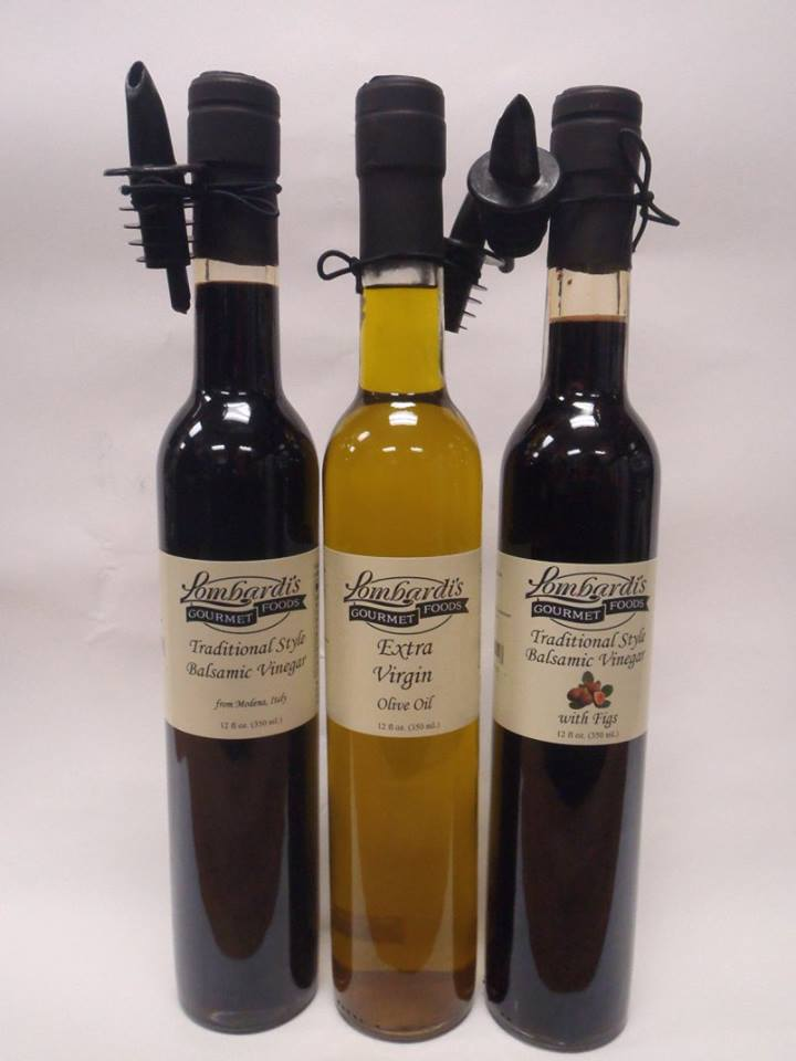 Lombardi's Brand Olive Oil and Vinegar