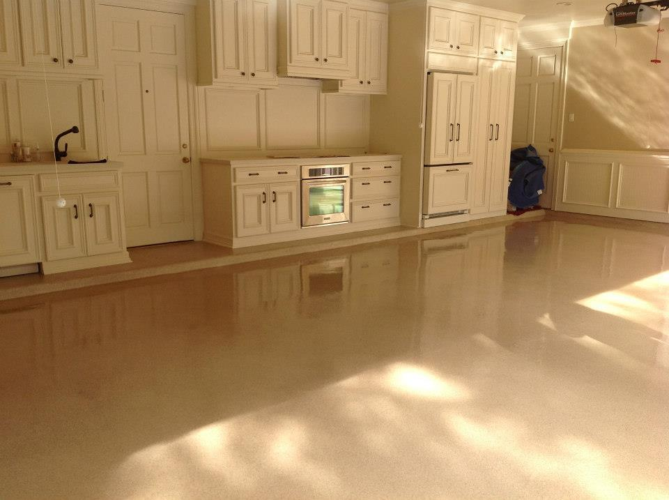 polyaspartic flooring Houston, TX