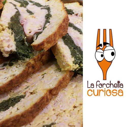 Piatti per il catering pranzi e cene al ristorante La Forchetta Curiosa a Roma