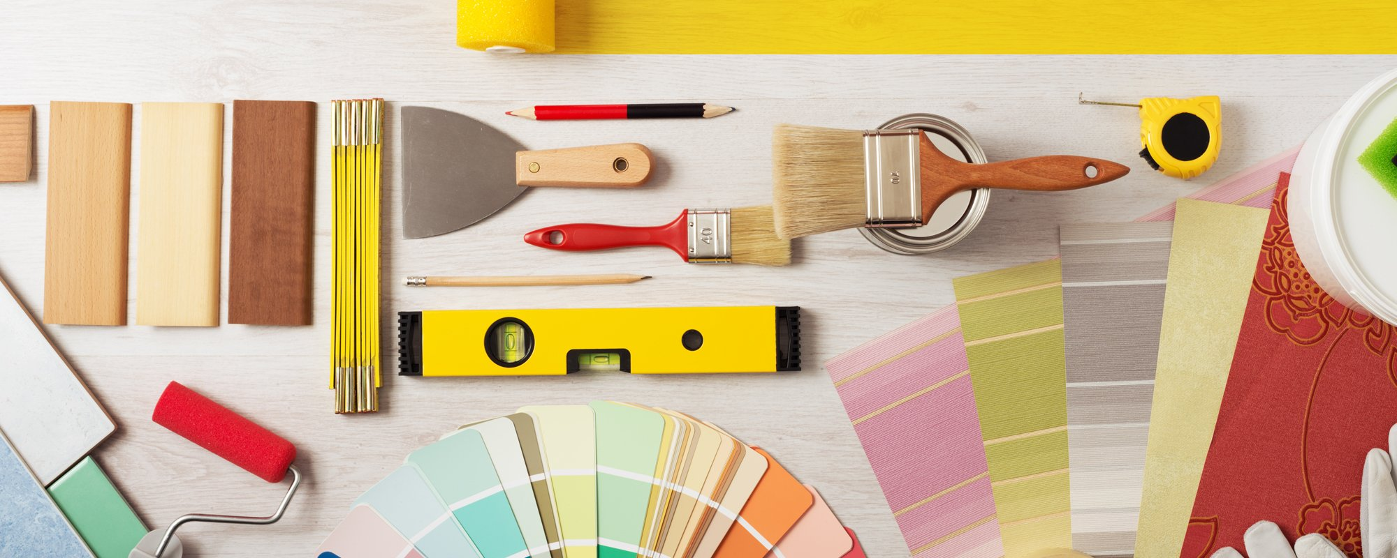 Tools used for painting